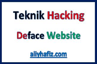 deface website