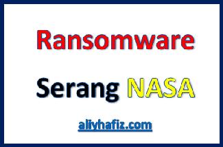 ransomware serang nasa